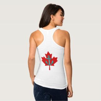 Aqua Anchor Canada Shirt  Lighthouse Route