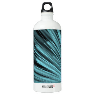 Aqua Angular Lines - Sigg Water Bottle