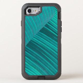 Aqua Banana Leaf OtterBox Defender iPhone 8/7 Case