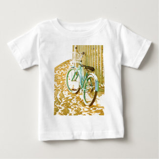 Aqua Beach Cruiser Baby T-Shirt