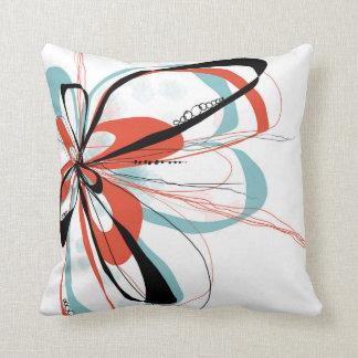 Aqua Bloom Pillow