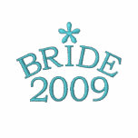 Aqua Blue Bride 20XX Customizable Embroidered Hoodies
