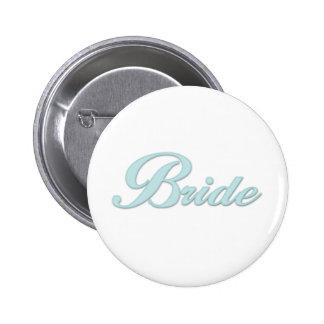 Aqua Blue Bride Pin