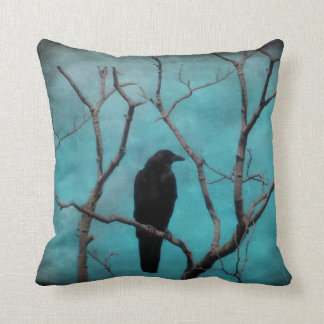 Aqua Blue Dream Throw Pillow