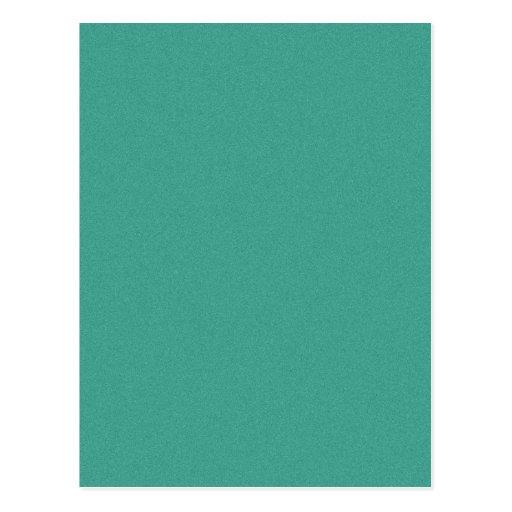 "Aqua/blue-green ""sand grains"" background postcards"