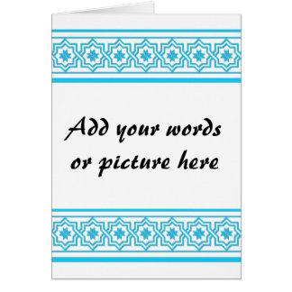 "Aqua blue ""lace"" background cards"