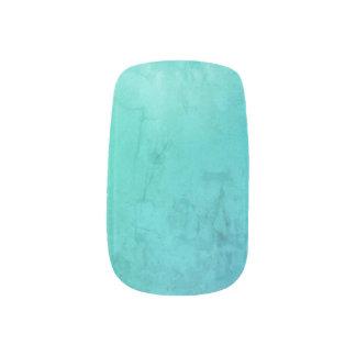 Aqua Blue Nail Art Decals