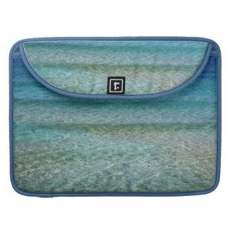 Aqua Blue Ocean Water Abstract Art Macbook Sleeve Sleeves For MacBook Pro