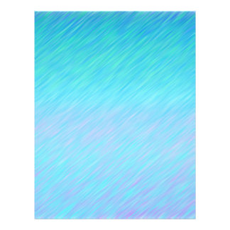 Aqua Blue Rain Pattern Scrapbook Paper