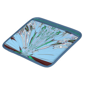 Aqua Blue Reflection Sararis rickshaw bagworks iPad Sleeves