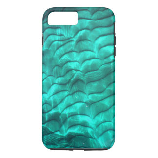 Aqua Blue Sandy Bottom iPhone 7 Plus Case