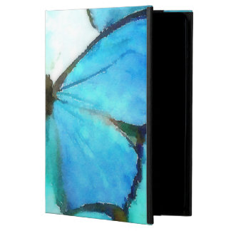 Aqua Butterflies iPad Air Cover