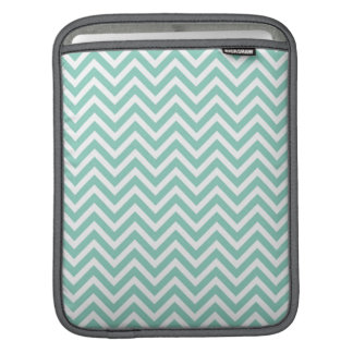 Aqua Chevron iPad Sleeve