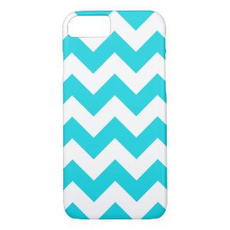Aqua Chevron Zigzag iPhone 7 Case