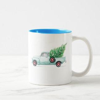 Aqua Chevy Mug