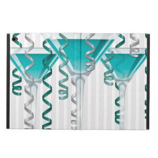 Aqua cocktail and ribbon
