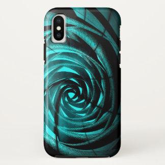 Aqua Complex Vortex - Apple iPhone X Case