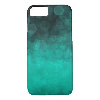 Aqua Cyan Spotted - Apple iPhone 8/7 Case