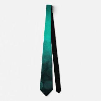 Aqua Cyan Spotted - Neck Tie
