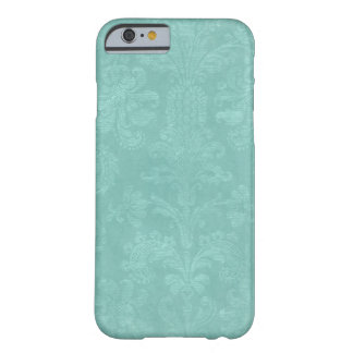 Aqua Damask Phone Case