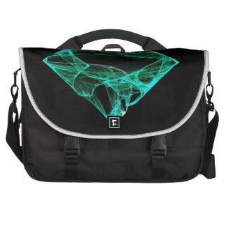 Aqua Diamond Commuter Bag