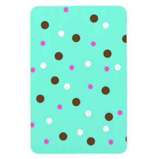 Aqua Dots Rectangular Photo Magnet