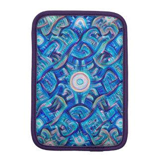 Aqua Dream Mandala iPad Mini Sleeve