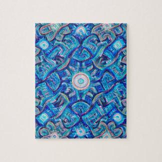 Aqua Dream Mandala Puzzle