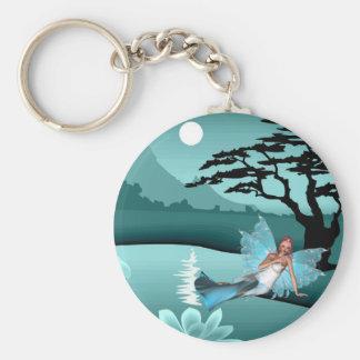 Aqua Fairy Keychain
