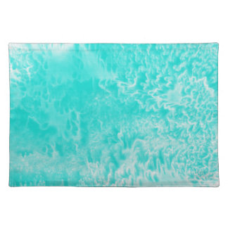 'Aqua Foam' Abstract Placemat
