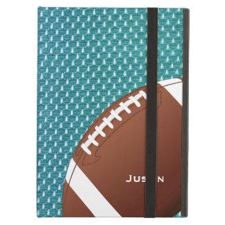 Aqua Football iPad Air Case