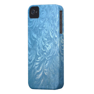 Aqua Frost ~ iPhone 4/4S CaseMate Barely There iPhone 4 Cover