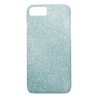Aqua Glitzy Ombre iPhone 8/7 Case