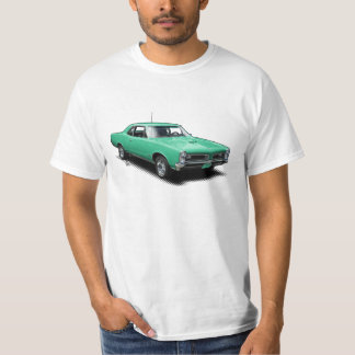 Aqua Goat Vintage Classic Muscle Car T-Shirt