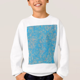 Aqua Green Background Sweatshirt