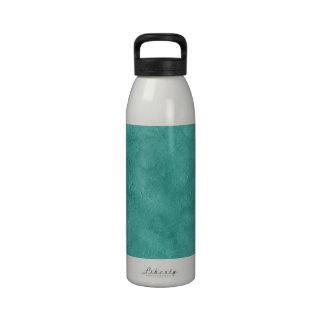 Aqua Grunge Duo-tone Texture Background Water Bottle