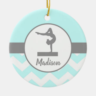 Aqua Gymnastics Ornament