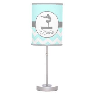 Aqua Gymnastics Silhouette Lamp