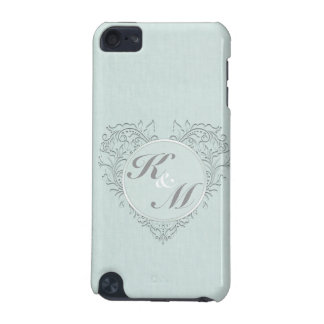 Aqua HeartyChic iPod Touch (5th Generation) Cases