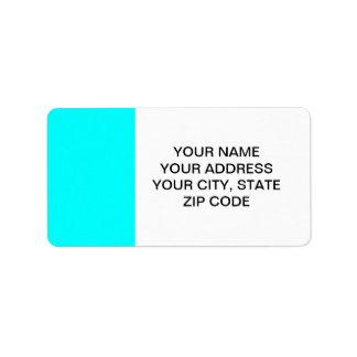 Aqua High End Solid Colored
