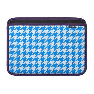 Aqua Houndstooth 1 MacBook Air Sleeve