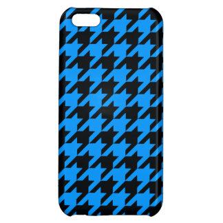 Aqua Houndstooth 2 iPhone 5C Cases