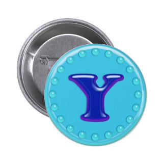 Aqua Initial Y Buttons