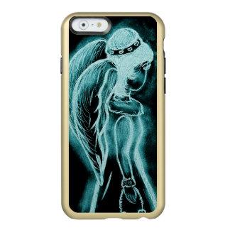 Aqua Inverted Angel Incipio Feather® Shine iPhone 6 Case