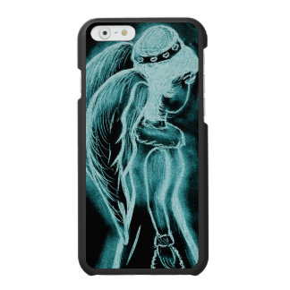 Aqua Inverted Angel Incipio Watson™ iPhone 6 Wallet Case