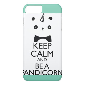 Aqua iPhone Panda Unicorn Case