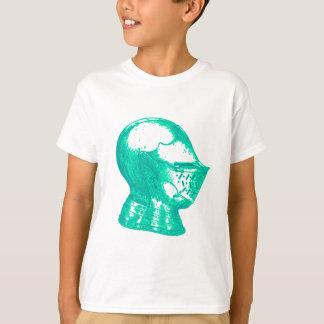 Aqua Knight Armor Medieval Helmet Knights T-Shirt