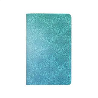 Aqua Lace Journal