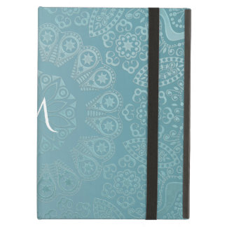 Aqua Lace Mandala Case For iPad Air