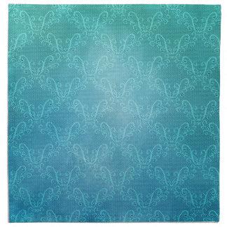 Aqua Lace Napkin